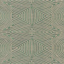 Flax/Jade Modern Drapery and Upholstery Fabric by Groundworks