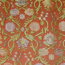 Brique Drapery and Upholstery Fabric by Scalamandre