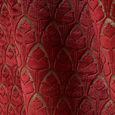 Cornaline Drapery and Upholstery Fabric by Scalamandre