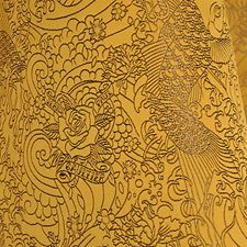 Gold Drapery and Upholstery Fabric by Scalamandre