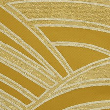 Ocre Drapery and Upholstery Fabric by Scalamandre