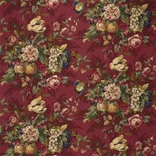 Burgundy/Red Vegetable Drapery and Upholstery Fabric by Kravet