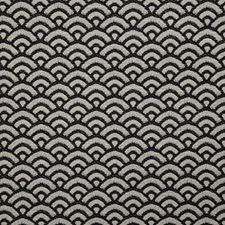 Black Contemporary Drapery and Upholstery Fabric by Pindler