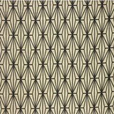 Ivory/Ebony Print Drapery and Upholstery Fabric by Groundworks
