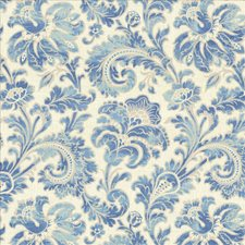 Matisse Blue Drapery and Upholstery Fabric by Kasmir
