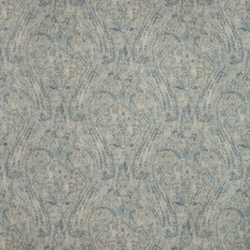 Beige/Blue/Slate Paisley Drapery and Upholstery Fabric by Kravet