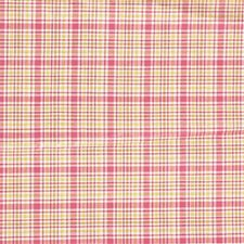 Butternut Plaid Drapery and Upholstery Fabric by Laura Ashley