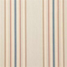 Seaglass Stripes Drapery and Upholstery Fabric by Laura Ashley