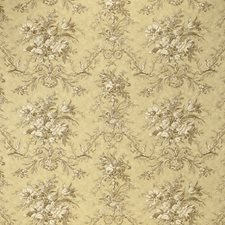 Toffee Print Drapery and Upholstery Fabric by Laura Ashley
