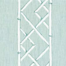 Aquamarine Asian Drapery and Upholstery Fabric by Kravet