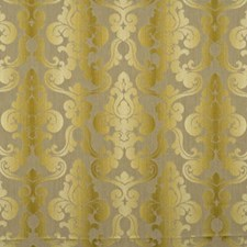 Maize Damask Drapery and Upholstery Fabric by Baker Lifestyle