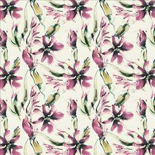 Pink Violet Drapery and Upholstery Fabric by Kasmir