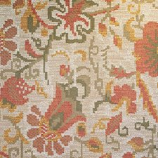 Stone Terracotta Drapery and Upholstery Fabric by Scalamandre