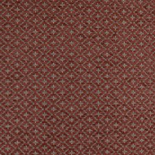 Red/Rust/Brown Diamond Drapery and Upholstery Fabric by Kravet