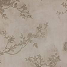 Beige/Gold/Metallic Botanical Drapery and Upholstery Fabric by Kravet