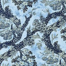 Blues Drapery and Upholstery Fabric by Scalamandre