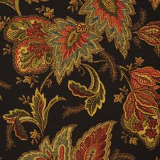 Black Swan Drapery and Upholstery Fabric by RM Coco