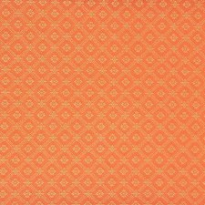 Orange Drapery and Upholstery Fabric by G P & J Baker