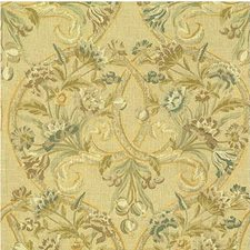 Flax Botanical Drapery and Upholstery Fabric by Lee Jofa