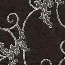 Dark Silver Drapery and Upholstery Fabric by RM Coco