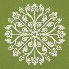 Verde Damask Drapery and Upholstery Fabric by Pindler