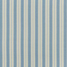 Aqua Stripes Drapery and Upholstery Fabric by Baker Lifestyle