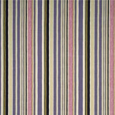 Damson/Mauve/Taupe Stripes Drapery and Upholstery Fabric by Baker Lifestyle