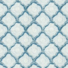 Azure Small Scales Drapery and Upholstery Fabric by Baker Lifestyle