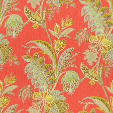 Festival Botanical Drapery and Upholstery Fabric by Baker Lifestyle