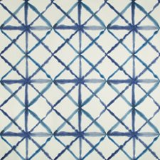 White/Blue/Indigo Ikat Drapery and Upholstery Fabric by Kravet