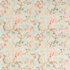 Spa Botanical Drapery and Upholstery Fabric by Kravet