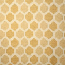Gold Ethnic Drapery and Upholstery Fabric by Pindler