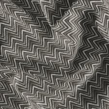 Grey/White/Black Geometric Drapery and Upholstery Fabric by JF