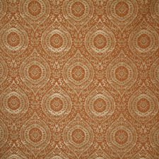 Rust Damask Drapery and Upholstery Fabric by Pindler