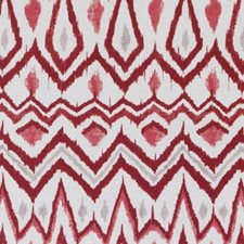 Red/Clay Ethnic Drapery and Upholstery Fabric by Duralee