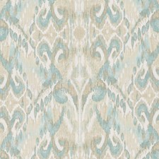 Seafoam Ethnic Drapery and Upholstery Fabric by Duralee