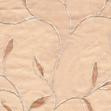 Peach Drapery and Upholstery Fabric by RM Coco