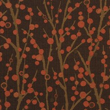 Brown Contemporary Drapery and Upholstery Fabric by JF