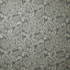 Denim Paisley Drapery and Upholstery Fabric by Pindler