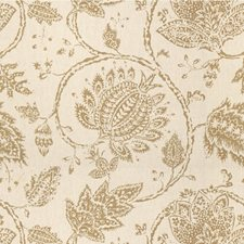 Greige Jacobeans Drapery and Upholstery Fabric by Kravet