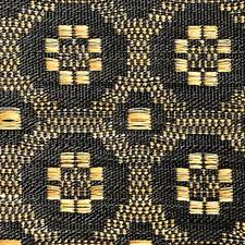 Beige/Black Drapery and Upholstery Fabric by Scalamandre