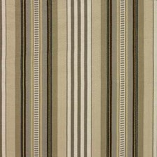 Taupe/Cream Stripes Drapery and Upholstery Fabric by Baker Lifestyle