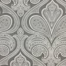 Grey/Silver/White Traditional Drapery and Upholstery Fabric by JF