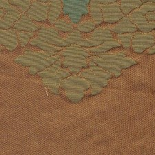 Bronze Teal Drapery and Upholstery Fabric by RM Coco