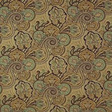 Spa Ethnic Drapery and Upholstery Fabric by Kasmir