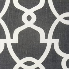Black/Grey/Silver Transitional Drapery and Upholstery Fabric by JF