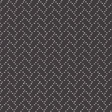 Graphite Geometric Drapery and Upholstery Fabric by Duralee