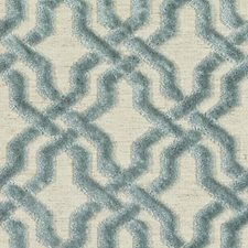 Turquoise Drapery and Upholstery Fabric by Duralee
