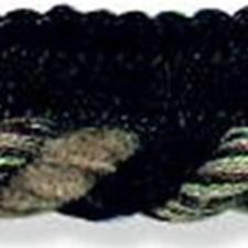 Cord With Lip Black/Beige Trim by Kravet