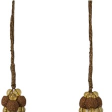 Tassel Tieback-Single Earthen Trim by Kravet